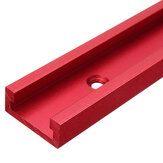 Universal Red 300-1220mm T-slot T-track Miter Track Jig Fixture Slot 30x12.8mm For Table Saw Router Table Woodworking Tool