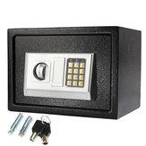 250×350×250mm Black Steel Digital Electronic Coded Lock Home Office Safe Box Override Key