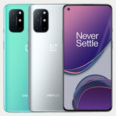 OnePlus 8T 5G Global Rom NFC Android 11 8GB 128GB Snapdragon 865 6,55 tommer FHD + HDR10 + 120Hz Fluid AMOLED-skærm 48MP Quad Camera 65W Warp Charge Smartphone
