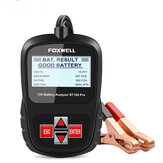 FOXWELL BT100 PRO Car Battery Tester 6V 12V For Flooded AGM GEL 100 To 1100CCA 200AH Battery Health Analyzer Automotive Diagnostic Tool