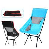 Cadeira de acampamento ao ar livre pano de oxford portátil dobrável alongar assento de cadeira ultraleve de acampamento para pesca piquenique churrasco praia 120 kg max rolamento