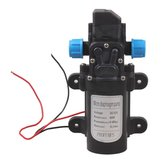 12V 60W High Pressure Micro Diaphragm Water Pump Automatic Switch 5L/min Range 8m Diaphragm