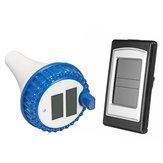 Wireless Solar Swimming Pool Water Thermometer Indoor Temperature Gauge Measure Meter