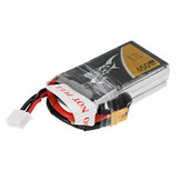 TATTU 11.1V 650mAh 75C 3S1P Lipo Battery with XT30U-F Plug for OMPHOBBY M2 Helicopter Eachine Tyro79 FPV Racing RC Drone