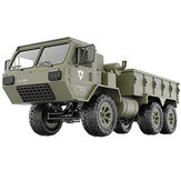 Fayee FY004A 1/16 2.4G 6WD Rc Car Proportional مراقبة US Army Military Truck RTR نموذج Toys
