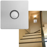 AC100V-250V Auto ON/OFF Infrared PIR Motion Sensor Detector Intelligent Light Switch