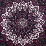 Indian Star Tapestry Hippie Mandala Psychedelic Print Wall Hanging Tapestry Fotografische Doek Art Home Decor Voor Decoraties