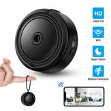 HD 1080P Mini WiFi Camera Pocket Body Camera Remote Monitor CCTV Webcam Video Wireless IR Night Vision Home Security DVR Camcord