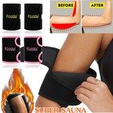 Braço de suor ZANZEA Sauna Cinto Neoprene Trimmer Shaping Fat Burner Trainer Esportes Academia Ferramentas de Exercício Mais Magras