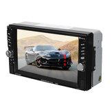 6.touch screen 2 din fotocamera stereo autoradio FM di deviazione standard TF MP5 Bluetooth 6 pollici