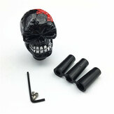 Universal Gear Shift Knob Manual Automatic Gearshift Shifter Skull