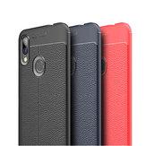 Bakeey Anti-fingerprint Litchi Silicone Soft Protective Case for Xiaomi Redmi 7/ Redmi Y3