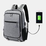 Porta di ricarica USB per uomo Grande capacità 16 Pollici Zaino multifunzione Casual Borsa
