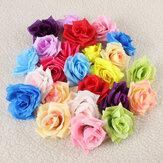 1pcs DIY Party Artificial Rose Flower Simulation Silk Home Wedding Decor