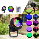 10W RGB LED Flood Light Outdoor Garden Landscape Wall Yard Path Lawn Lamp