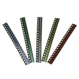 100Pcs 5 Colors 20 Each 0603 LED Diode Assortment SMD LED Diode Kit Green/RED/White/Blue/Yellow