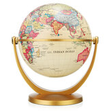 World Globe Earth Ocean Map Com Rotating Stand Geografia Ciência Equipamento Educacional