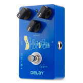 Caline CP-19 Blue Ocean Delay Gitarren-Effektpedal True Bypass 25ms-600ms Delay Time