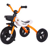 Folding Kids Tricycle Toddlers Bicycle Portable Exercise Trike for Boys Girls 55 lbs Age 3-5 Years