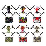 Sunnylife Waterproof PVC Stickers Drone Body Skin Protective Arm Remote Control Protector for DJI Mavic Mini 2 Drone