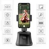 360 Rotation Smartphone Gimbal Auto Face Tracking Holder Smart Shooting Phone Holder Mount Vlog Accessories Support Tripod