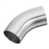 1.5 / 2 / 2.5 / 3'' OD 45 Degree Exhaust Pipe Bends Tube Elbows  Stainless Steel