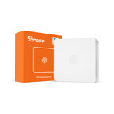 SONOFF SNZB-01 - ZB Wireless Switch Mini Size Link ZB Bridge with WiFi Devices Make Them Smarter via eWeLink APP IFTTT