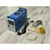 2800W AC110-220V 12A Power Supply with Overload Alarm Foot Switch Integrated Induction Heating Machine with Water and Cold Air Module