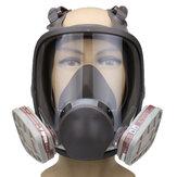 Silicona Respirador para máscara facial 6800 Full Face Gas Mascara Pintura para pulverización protectora Mascara