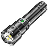 SMILING SHARK XHP70 2300LM Long Shoot Spotlight USB Rechargeable 26650 LED Flashlight For Outdoor Camping Hunting Searching