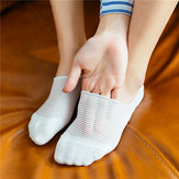Non Slip Low-Cut Boat Socks Invisible Breathable Ankle Sock