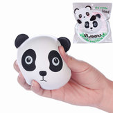 Vlampo Squishy Panda Head Face Licensed Slow Rising Original Packaging Collection Игрушка Подарочный декор
