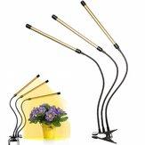 3 cabeças 108LED 54W Planta lâmpada em crescimento, flor, luz, luz, hidroponia, espectro completo