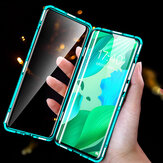 Bakeey Magnetic Flip Double-sided 9H Tempered Glass Metal Full Body Protective Case for Samsung Galaxy Note 20 Ultra / Note 20 Ultra 5G