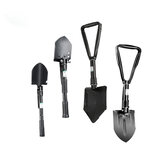 FUJIWARA Multifunctional Gardening Shovel Hoe Foldable Hiking Device Mini Military Survival Tools