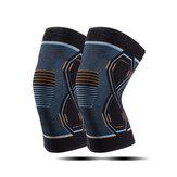 1 paio di ginocchiere elastiche Nylon Sport Idoneità Ginocchiere Idoneità Gear Patella Brace Running Basket Supporto per pallavolo