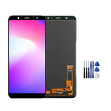 Full Assembly No Dead Pixel LCD Display+Touch Screen Digitizer Replacement+Repair Tools For Samsung Galaxy A6+ A6 Plus 2018 A605 A605F A605G