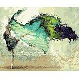 40X50см танцор цифровой акриловой живописи поделок ручной самостоятельной краски комплект домашнего декора без рамки