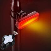 BIKIGHT bezprzewodowy pilot rowerowy sygnał tylne światło rowerowe kierunkowskaz ładowanie USB wodoodporne nocne światło ostrzegawcze