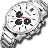 CURREN 8315 Chronograph Waterproof Quartz Watch