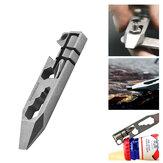 TITANER Multitools EDC Pocket Отвертка Гаечный ключ открывалка для бутылок, отверстие для ключей, выживание, аварийная ситуация Набор На открытом возду