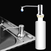 Bathroom Kitchen Soap Dispenser for Sink Detergent Liquid Hand Wash Soap Dispenser Pump for Kitchen Stainless Steel Head