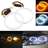 Par 60/70/80/90/100 / 110mm 2835 LED Angel Eyes Lights Halo Ring DRL Sinal de giro Light