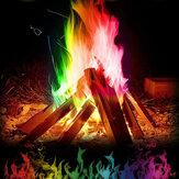 15g Mistik Yangın Bonfire Kamp Ateşi Parti Şömine için Renkli Magic Alev Alevler Toz Magic Trick Piroteknik Oyuncak