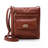 Vrouwen PU Leather Crossbody Bag Schoudertas