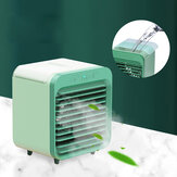 3 in1 Portable Air Conditioner Humidifier 3 Speeds Cooler Evaporative Cool Fan Low Noise for Home Office