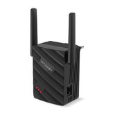 Répéteur sans fil BlitzWolf® BW-NET2 Extendeur de portée sans fil 300 Mbps prenant en charge 64 appareils Amplificateur de signal WiFi portable