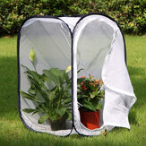 40X40X60cm Collapsible Backyard Butterfly Cage Grow Tent Terrarium Fine Wire Mesh for Greenhouse Growing Shed
