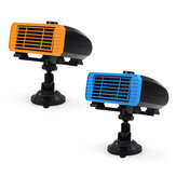 12/24V Multifunctional Car Heater 360° Rotating Hot Cold Dual Use Overheat Protection