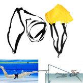 Resistencia a la natación Cinturón Entrenamiento de fuerza de natación Niños Adulto Natación Tether Hombres Mujer